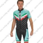 2018 Team BIANCHI MILANO Italy Racing Kit Green Black