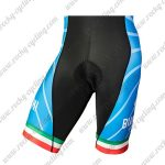 2018 Team BIANCHI MILANO Italy Riding Shorts Bottoms Black Blue