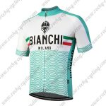 2018 Team BIANCHI MILANO Racing Jersey Maillot Shirt Blue White