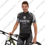 2018 Team BIANCHI Riding Kit Black White Grey