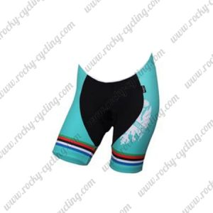 2018 Team BIANCHI Women's Lady Biking Shorts Bottoms Black Blue