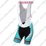 2018 Team BIANCHI Women's Lady Cycling Bib Shorts Bottoms Black Blue