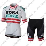 2018 Team BORA hansgrohe Austria Biking Kit White