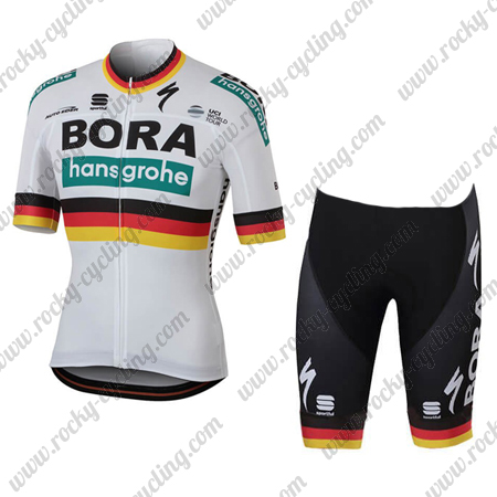2018 Team BORA hansgrohe Germany Biking Outfit Summer Winter Cycle ... 8fbf5f903