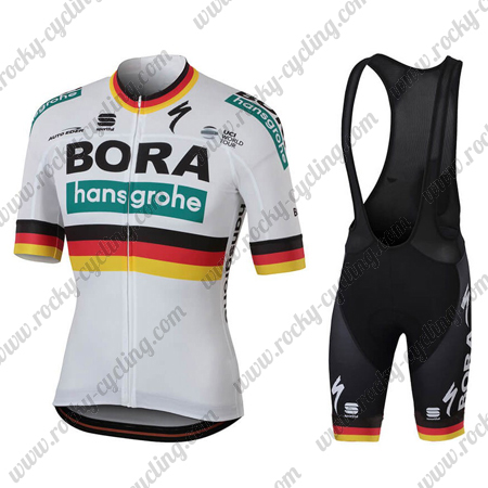 2018 Team BORA hansgrohe Germany Racing Outfit Cycle Jersey and ...