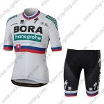 2018 Team BORA hansgrohe Slovakia Biking Kit White