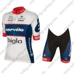 2018 Team Cervelo Bigla Racing Kit White Blue Red