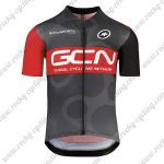 2018 Team GCN Cycling Jersey Mailot Shirt Black Red