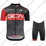 2018 Team GCN Cycling Kit Black Red