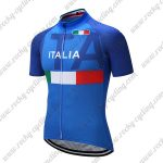 2018 Team ITALIA Cycling Jersey Maillot Shirt Blue