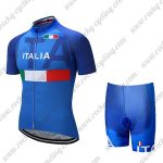 2018 Team ITALIA Cycling Kit Blue