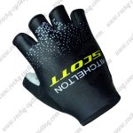 2018 Team MITCHELTON SCOTT Cycling Gloves Riding Mitts Black Yellow