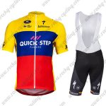 2018 Team QUICK STEP Ecuador Champion Cycling Bib Kit