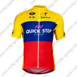 2018 Team QUICK STEP Ecuador Champion Cycling Jersey Maillot Shirt