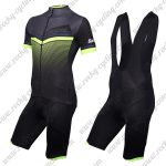 2018 Team Santini Cycling Bib Kit Black Green