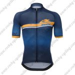 2018 Team Santini Cycling Jersey Shirt Blue