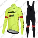 2018 Team TREK Segafredo Cycling Long Bib Suit Yellow