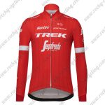 2018 Team TREK Segafredo Cycling Long Jersey Red