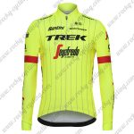 2018 Team TREK Segafredo Cycling Long Jersey Yellow