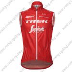2018 Team TREK Segafredo Cycling Tank Top Sleeveless Jersey Red