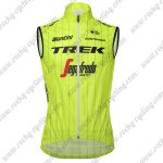 2018 Team TREK Segafredo Cycling Tank Top Sleeveless Jersey Yellow