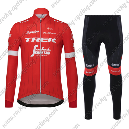 2018 Team TREK Segafredo Winter Biking Apparel Thermal Fleece Riding ... 89a7b72b9