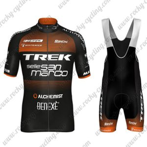 2018 Team TREK Selle San Marco Cycling Bib Kit