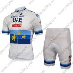 2018 Team UAE Emirates European Champion Racing Bib Kit White2018 Team UAE Emirates European Champion Racing Bib Kit White