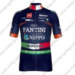 2018 Team VINI FANTINI NIPPO Cycling Jersey Maillot Shirt Blue