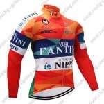 2018 Team VINI FANTINI NIPPO Cycling Long Jersey Colorful