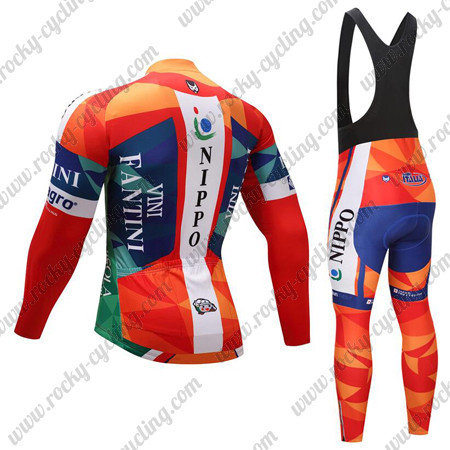2018 Team VINI FANTINI NIPPO Cycle Outfit Riding Long Jersey and ... 71306d6e9