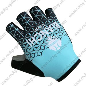 2018 Team BIANCHI Riding Gloves Mitts Blue Black