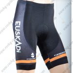 2018 Team EUSKADI Cycling Shorts Bottoms Black Yellow