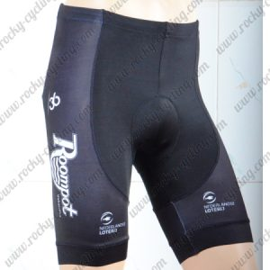 2018 Team Roompot Bike Shorts Bottoms Black Yellow