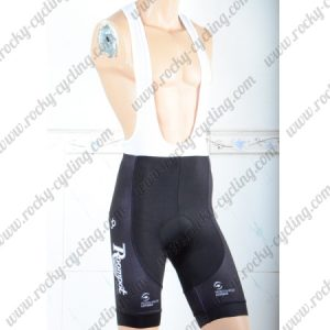 2018 Team Roompot Cycling Bib Shorts Bottoms Black Yellow