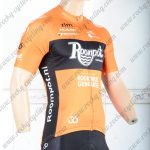 2018 Team Roompot Cycling Jersey Shirt Yellow Black
