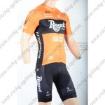 2018 Team Roompot Cycling Kit Yellow Black