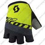 2018 Team SCOTT Cycling Gloves Mitts Yellow Black