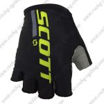 2018 Team SCOTT Riding Gloves Mitts Black Yellow