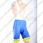 2018 Team WANTY Cycling Bib Shorts Bottoms Blue