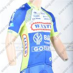2018 Team WANTY Cycling Jersey Shirt Blue