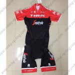 2017 Team TREK Segafredo Cycling Skin Suit Red Black