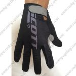 2018 Team SCOTT Riding Gloves Full Finger Black Grey