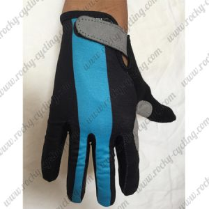 2018 Team SKY Cycling Gloves Full Finger Black Blue