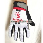 2018 Team Sunweb GIANT Cycling Full Finger Gloves White Red