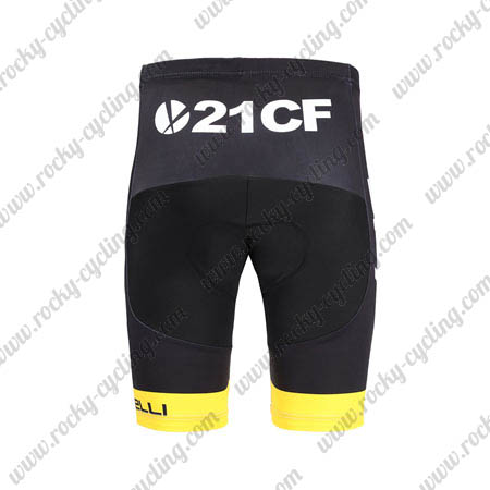 ... 2018 Team SKY Castelli Ocean rescue Cycling Shorts Bottoms Black Yellow 69c1e8d33