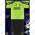 2018 Team EUSKADI MURIAS Cycling Kit Green Black