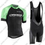 2018 Team ORBEA Cycling Bib Kit Black Green