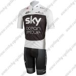 2018 Team SKY Castelli Ocean rescue Cycling Kit White Black