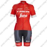 2018 Team TREK Segafredo Women Cycling Kit Red